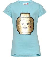 lwt 308 - t shirt s/s t-shirts short-sleeved blå lego wear