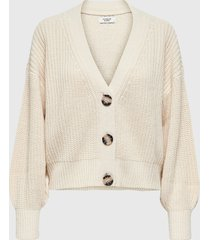 cardigan jacqueline de yong beige - calce regular