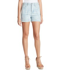 jessica simpson infinite frayed denim shorts