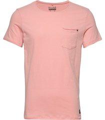bhnoel tee t-shirts short-sleeved rosa blend