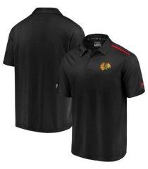 authentic nhl apparel chicago blackhawks men's authentic pro rinkside polo