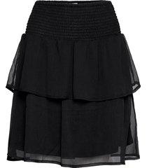 kahanar skirt kort kjol svart kaffe