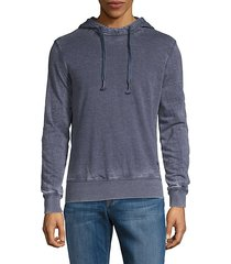 burnout elbow patch hoodie