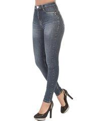 calça jeans sawary cigarrete 360 azul