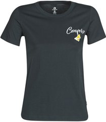 t-shirt korte mouw converse converse womens hangin' out classic tee
