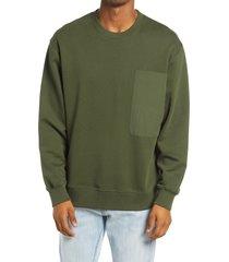 men's topman pocket sweatshirt