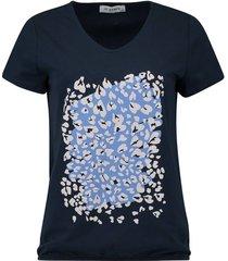 t-shirt km donkerblauw
