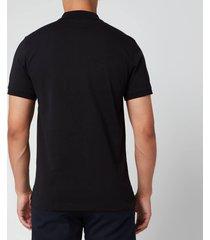 kenzo men's sport polo shirt - black - xl