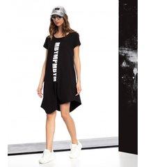 sukienka asymetryczny dol