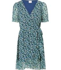 omlottklänning viviolette cottage s/s wrap dress
