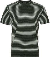 classic cotton elastane jersey crewneck tee t-shirts short-sleeved grön scotch & soda