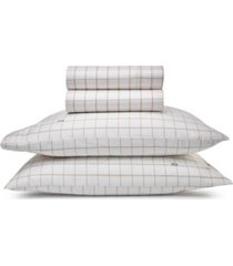 lacoste home match point collection sheet set, standard king bedding
