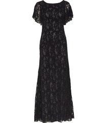billy long dress maxi dress galajurk zwart valerie