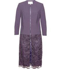 blazer lungo con pizzo premium (viola) - bpc selection premium