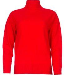 gebreide trui mister  rood