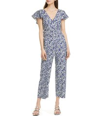 women's tanya taylor avalon belted crop jumpsuit