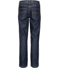 fodrade jeans babista mörkblå