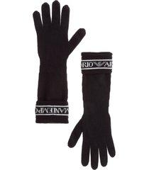 guanti donna in lana