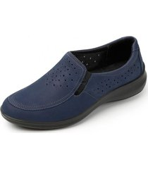 zapato mujer miroslava azul flexi