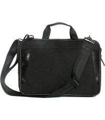 men's boconi collins canvas briefcase - black