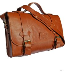 bolsa line store leather satchel oregon média couro whisky rústico