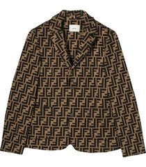 fendi brown jacket