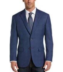 pronto uomo platinum modern fit sport coat blue plaid
