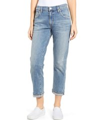 women's citizens of humanity emerson crop slim fit boyfriend jeans