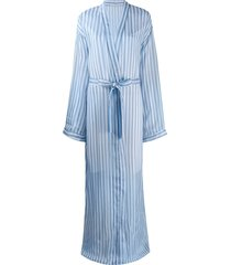 sian swimwear irene kimono robe - blue