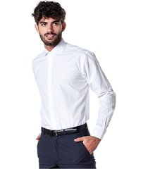 camisa blanca equus cooper classic fit