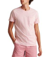 men's bonobos men's stripe pocket t-shirt, size xx-large - pink