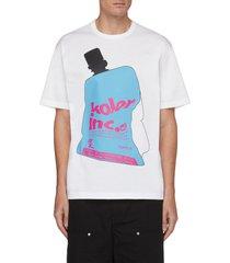 bottle print t-shirt