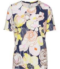 t-shirt short-sleeve t-shirts & tops short-sleeved multi/mönstrad gerry weber edition