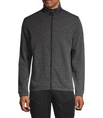 full-zip jacket