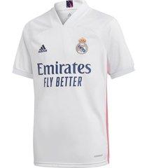camiseta blanca adidas real madrid 20/21
