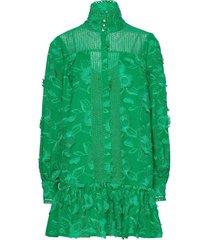elorie jurk knielengte groen custommade