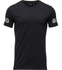 tee borg 1p t-shirts short-sleeved svart björn borg