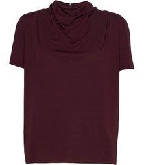 volona j blouses short-sleeved rood tiger of sweden