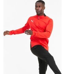 ftblplay trainingspak voor heren, rood/zwart, maat xl | puma