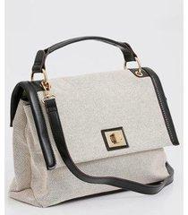 bolsa de mão chenson textura feminina