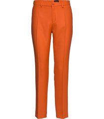 3596 - dori a slimfit broek skinny broek oranje sand