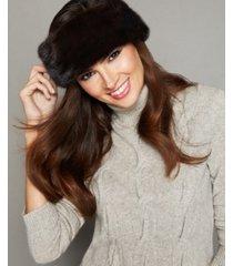 the fur vault mink fur headband