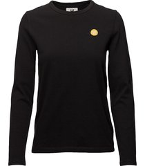 moa long sleeve t-shirts & tops long-sleeved zwart wood wood