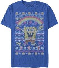 fifth sun men's squarepants sweater short sleeve crew t-shirt