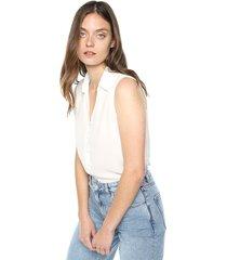 blusa blanco accessorize