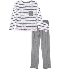 pigiama con maglia oversize (grigio) - bpc bonprix collection