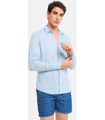 peninsula swimwear shirt budelli linen