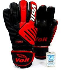 guantes para arquero voit titan 79122 -  rojo