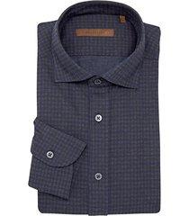 classic-fit check dress shirt