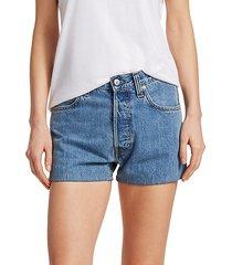 masc high-rise denim shorts